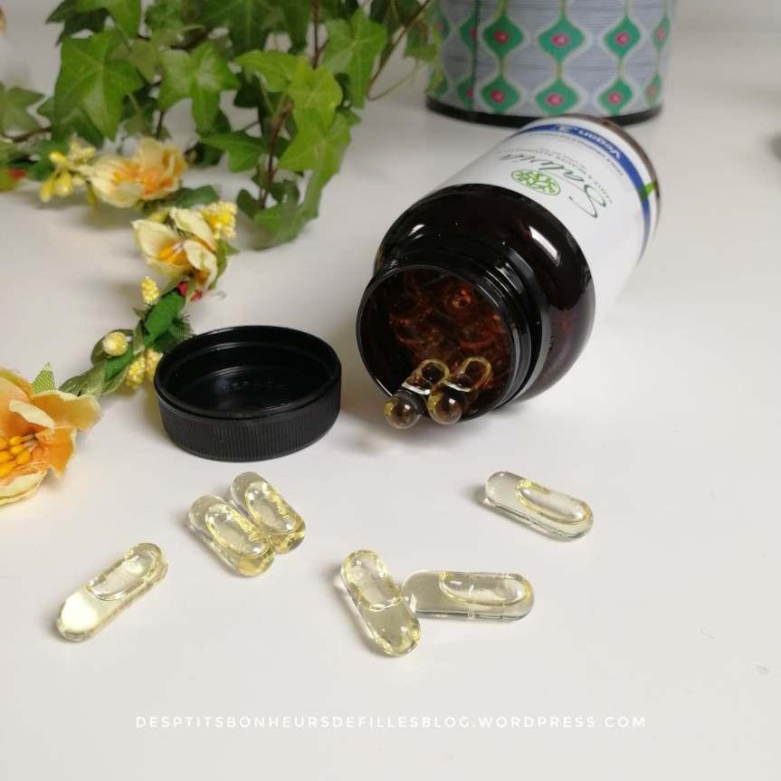 capsules d'huile de périlla salvia